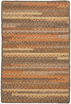 Colonial Mills PY49R048X072B Print Party Rectangle Braided Rug
