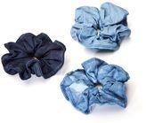 Elegant Touch House of Holland Hair Denim Scrunchies 3s