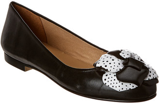 French Sole Barcelona Leather Flat
