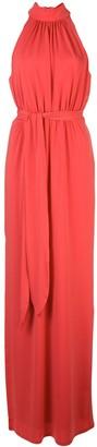 Halston Ruched Design Dress