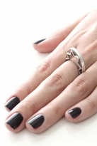 House Of Harlow Zig Zag Stacking Ring in Silver