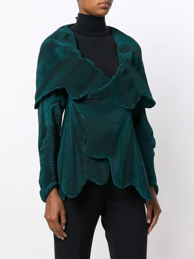 Issey Miyake wrap around jacket