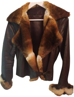 Jitrois Brown Mink Leather jackets