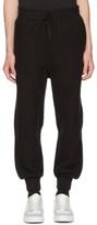 Ami Alexandre Mattiussi Black Wool Track Pants