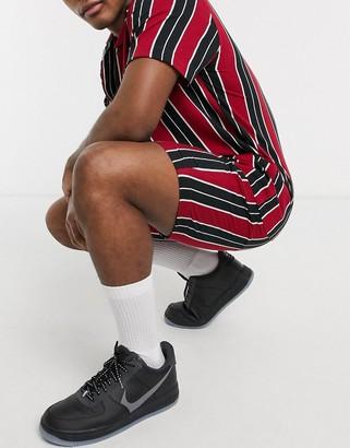 Brave Soul co-ord drawstring shorts in stripe