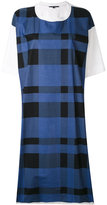 Sofie D'hoore checked T-shirt dress - women - Cotton - 38