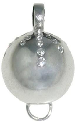 Isla Simone Isla Simone Fine 925 Sterling Silver Necklace With Ball Charm Jewelry