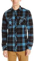 O'Neill Men's Glacier Big Plaid Long Sleeve Shirt
