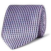 Dunhill - 7.5cm Mulberry Silk-jacquard Tie