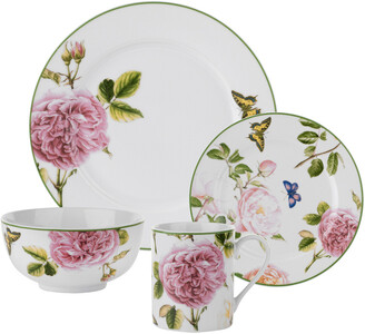 Spode Home Roses 16Pc Dinnerware Set