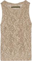 Enza Costa Cable-knit vest