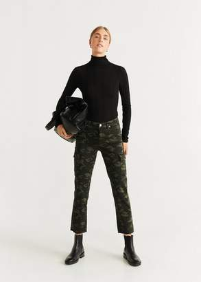 MANGO Cargo jeans ecru - 1 - Women