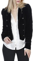 Paige Women's Maribel Velvet Jacket