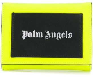 Palm Angels Logo Print Foldover Wallet