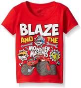 Nickelodeon Blaze and the Monster Machines Little Boys' Toddler Short Sleeve T-Shirt