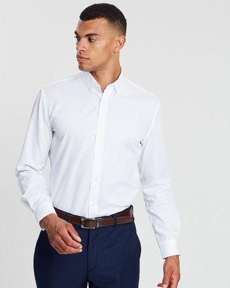 TAROCASH Bermuda Slim Dress Shirt