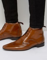 Jeffery West Brogue Short Boots