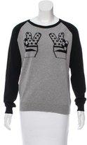 Zoe Karssen American Peace Cashmere Sweater