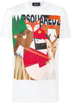 DSQUARED2 printed T-shirt - men - Cotton - S