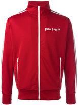 Palm Angels zipped high neck sweatshirt - men - Polyester - S