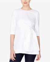Catherine Malandrino Side-Tie Tunic