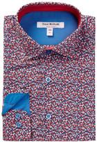 Isaac Mizrahi Premium Floral Print Shirt (Toddler, Little Boys, & Big Boys)