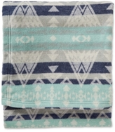 Pendleton Cotton Jacquard High Peaks King Blanket