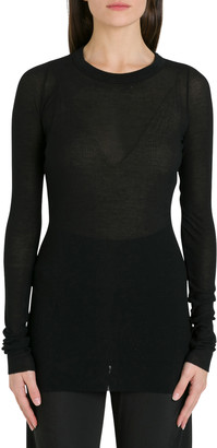 Rick Owens Tecuatl Long Sleeve T-shirt