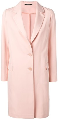 Tagliatore Loose Fitting Blazer Coat