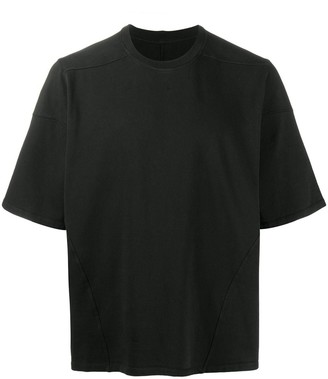 Rick Owens short sleeve boxy fit T-shirt