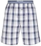 HUGO BOSS Check Lounge Shorts