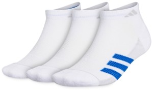 adidas Men's 3-Pack Superlite Stripe Ii Low-Cut Socks