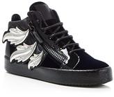 Giuseppe Zanotti May London Wing-Embellished Sneakers
