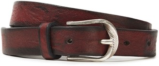 IRO Saba Cracked-leather Belt