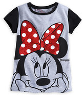 Disney Minnie Mouse Bow Tee for Girls - Disneyland