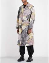 Yohji Yamamoto Skull-pattern shell jacket