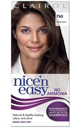 Clairol Nice 'N Easy No Ammonia Hair Dye Medium Brown 765