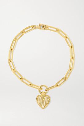 Foundrae Amate 18-karat Gold Diamond Bracelet