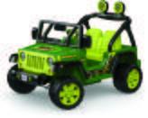 Power Wheels Teenage Mutant Ninja Turtles Jeep Wrangler