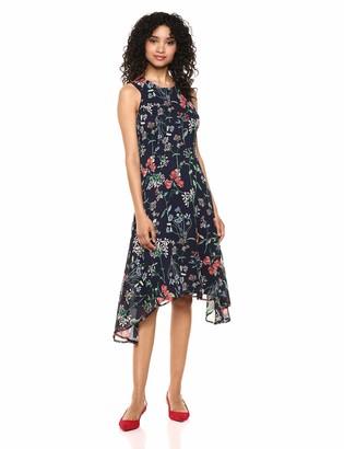 Tommy Hilfiger Women's Chiffon High Low Dress