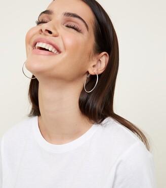 New Look 2 Pack Gold and Hoop Earrings