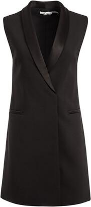 Valentina Tuxedo Mini Dress
