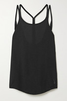 Nike Yoga Strappy Cotton-blend Tank