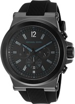 Michael Kors MK8152 - Men's Silicone Chronograph Chronograph Watches