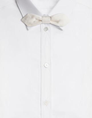 Dolce & Gabbana Silk Faille Bow Tie