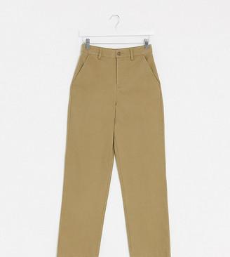 Asos Tall ASOS DESIGN Tall straight leg chino pants in sand