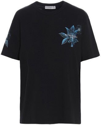 Givenchy Floral Schematic T-Shirt