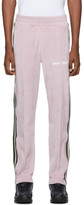 Palm Angels Pink Chenille Track Pants