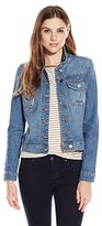 KUT from the Kloth Women's Amelia Denim Jacket In Vitality