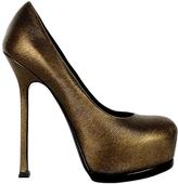Saint Laurent Trib Too leather heels